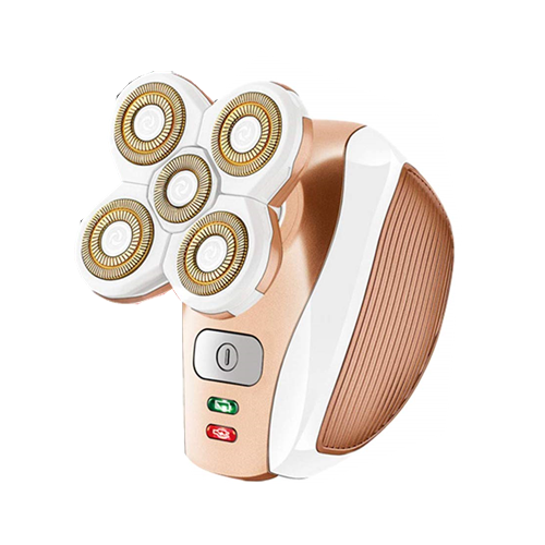 Electric Shaver for Women, Cordless Ladies Electric Razor Hair Trimmer - Rose Gold