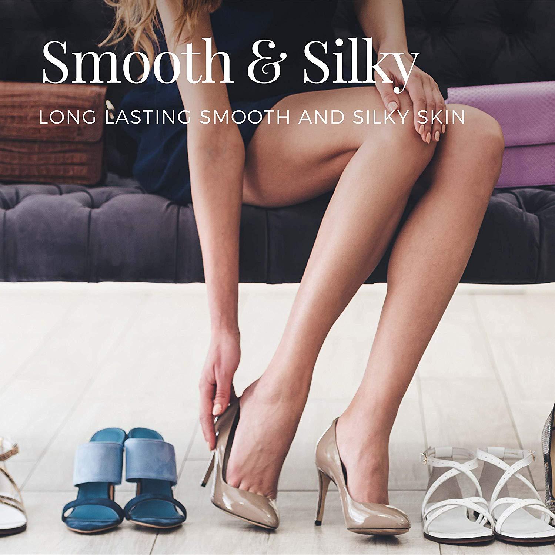 Women's Smooth & Silky Bikini Trimmer Kit, Wet Dry Foil Shaver Body Trimmer - Pink