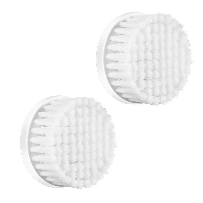 ETEREAUTY Facial Brush Heads for 4 in 1 Travel Waterproof Facial System, 2 Pack