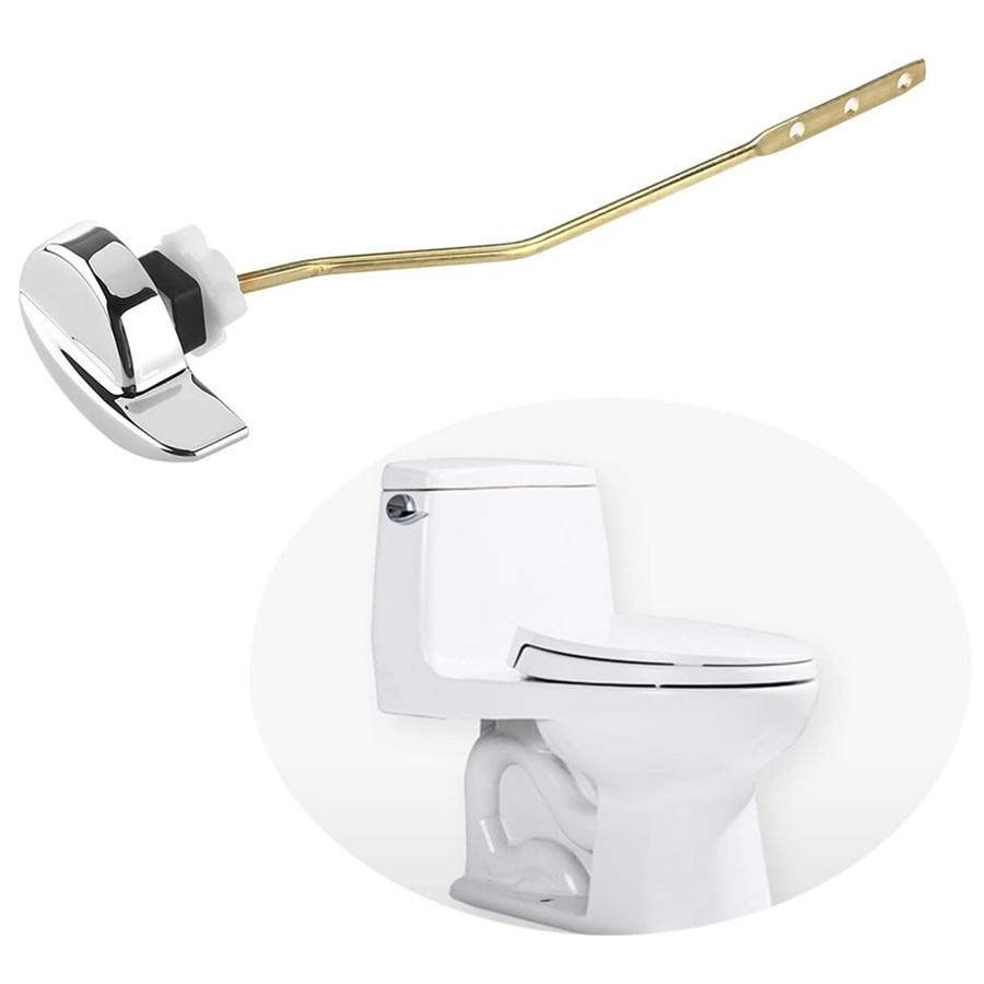 Side Mount Toilet flush Lever Handle, Angle Fitting Toilet Lever for TOTO Kohler Toilet Tank