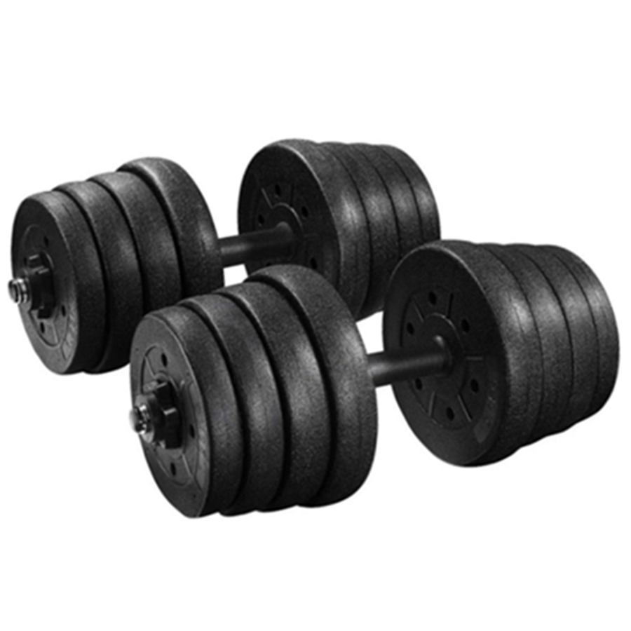 Adjustable Free Weights Dumbbells Set Strength Training Barbell Set 10 30 40 66 lbs