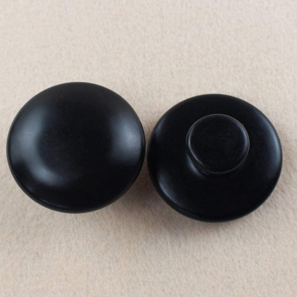 Hot Stones Massage Mushroom Shaped Massage Stones Gua Sha Tools for Face Body for Spa Massage, 2pcs