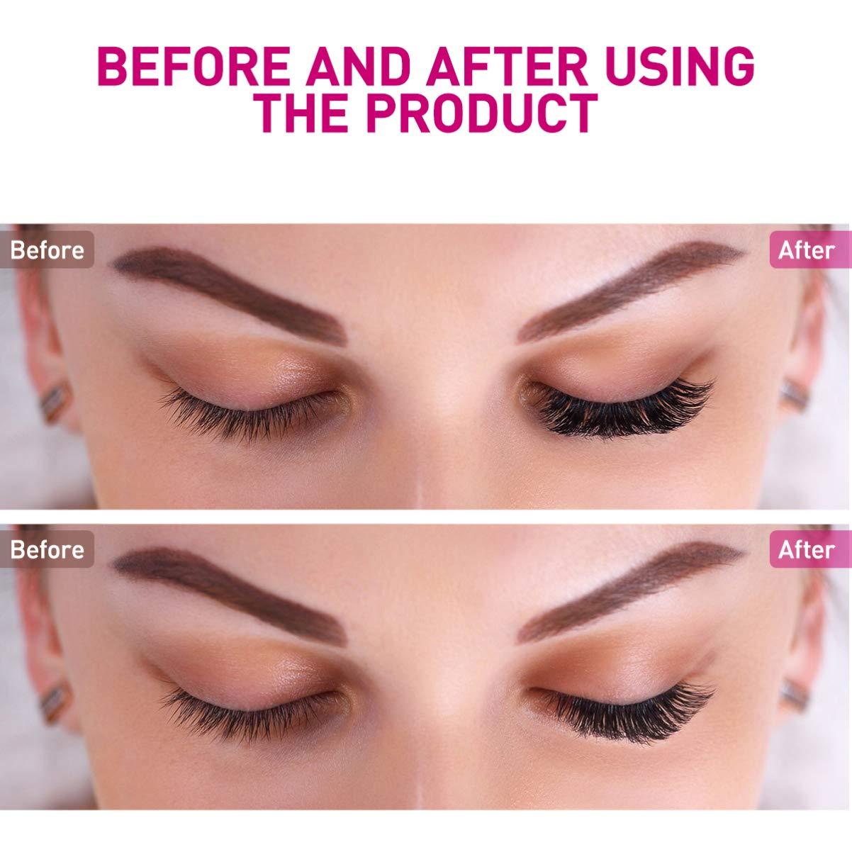 False Eyelashes Natural Fake Lashes Handmade Reusable Makeup Eyelashes with Tweezer (15 Pairs)