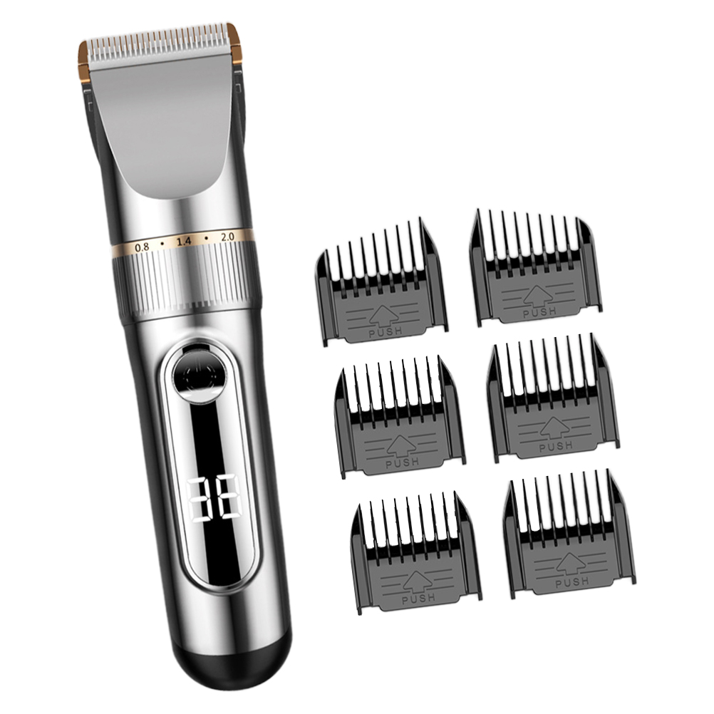 FRCOLOR 1 Set Mens Hair Clippers Hair Trimmer Rechargeable Hair Shaver Mens Grooming Kit for Beard Head Body and Face