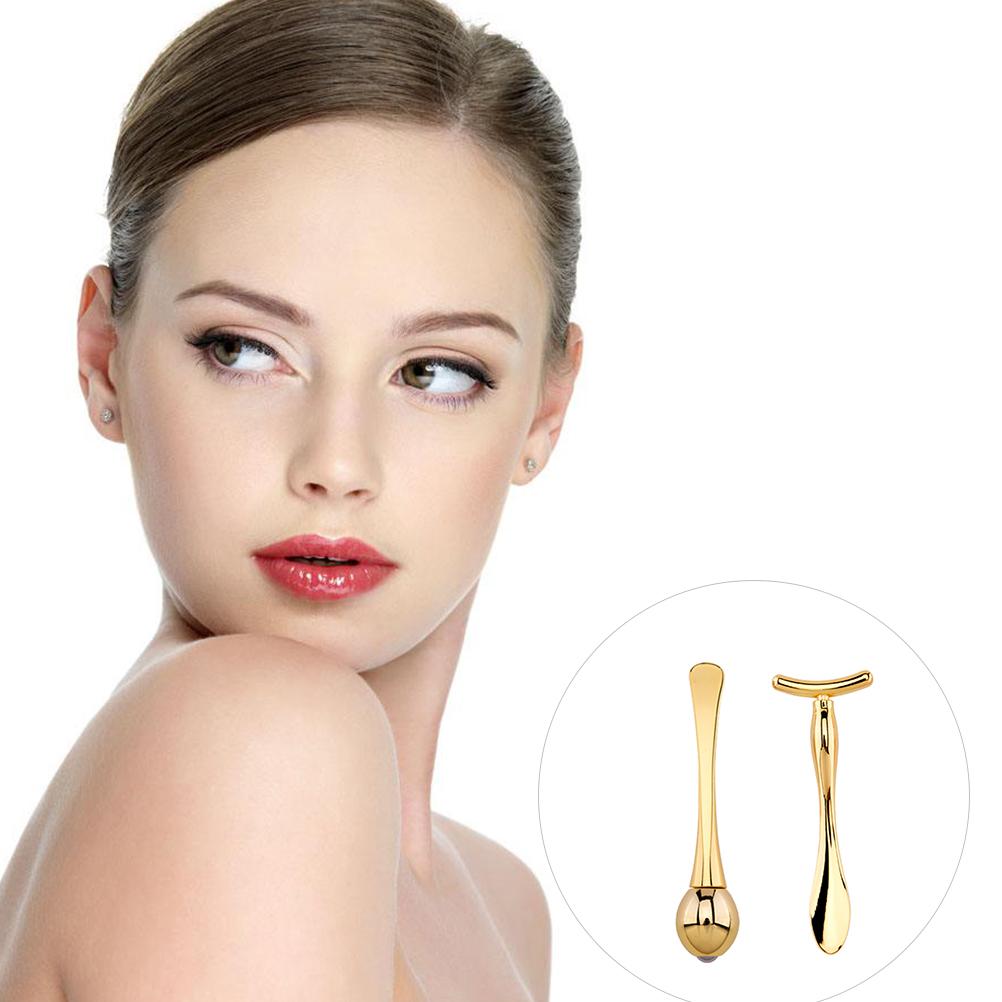 Face Massager Roller T Shape Arm Eye Nose Head Massager