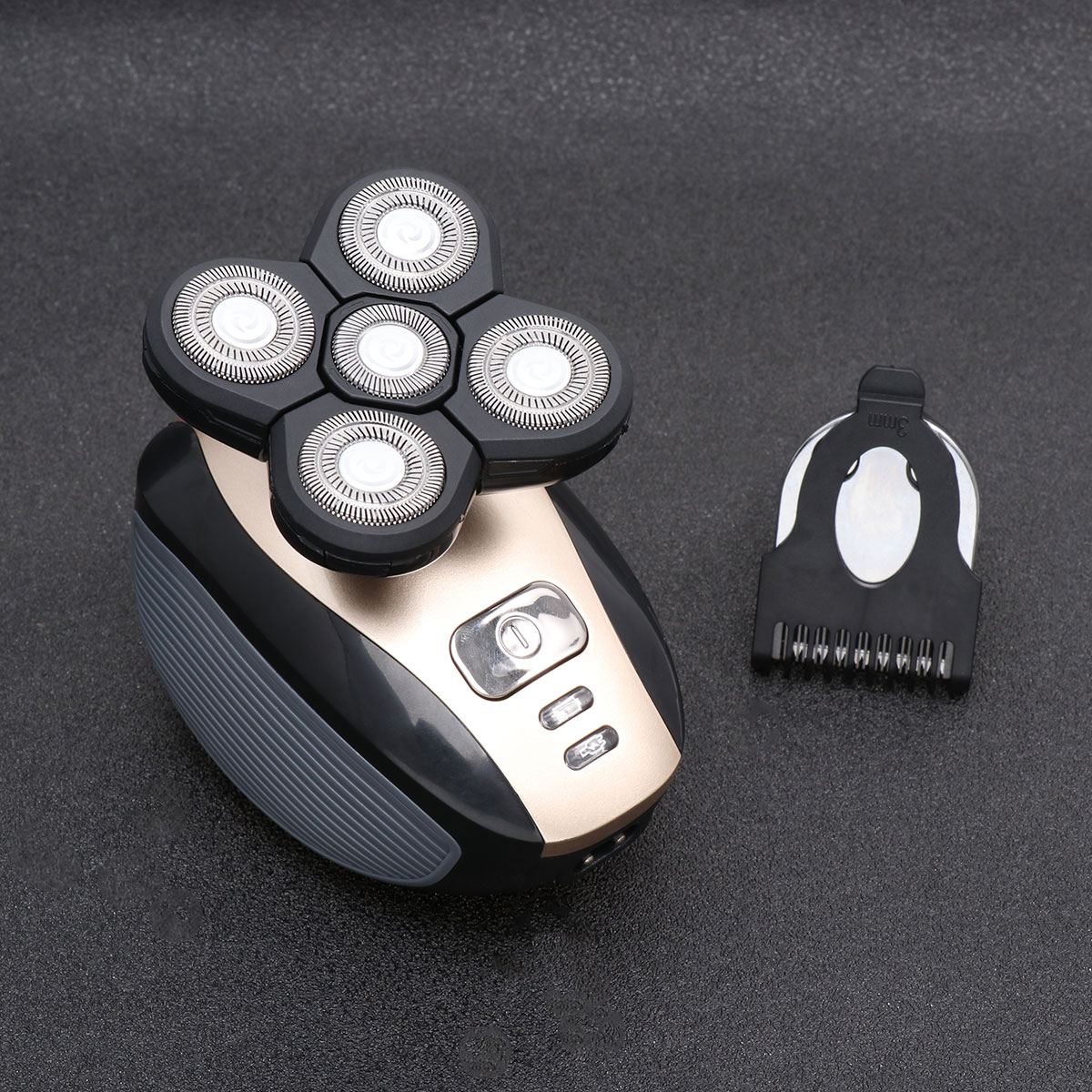 Electric Shaver Corded and Cordless Rechargeable 3D Rotary Shaver Razor for Men Wet and Dry Painless